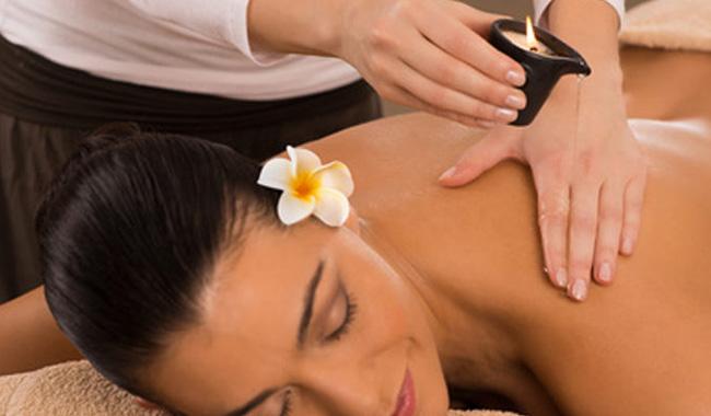 Massaggio candle Centro Estetico Essebeauty Empoli